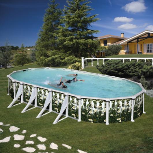 Piscina gre ovalada kit prov 738 j piscinas gre piscinas for Piscinas gre precios