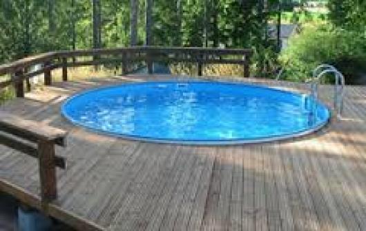 Piscina gre redonda enterrada kpe4227 piscinas gre x - Piscinas de acero enterradas ...