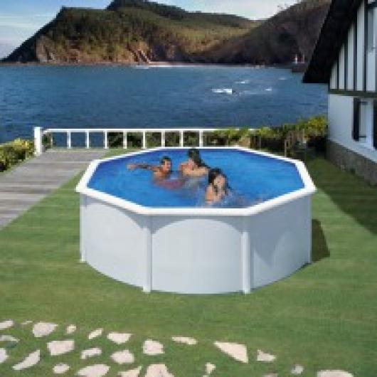 Piscina gre redonda kitpr358e blanca piscinas gre - Liner piscina redonda ...