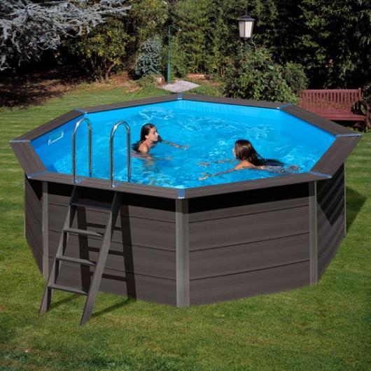 Piscina gre redonda kpco41 composite avantgarde mts x mts de alto piscinas gre - Piscinas en alto ...