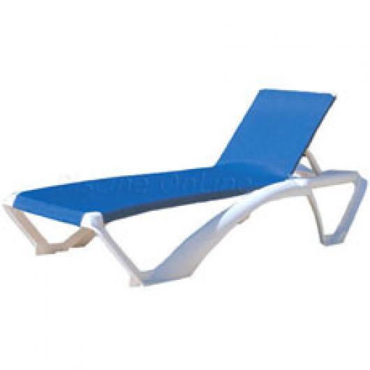 Tumbona marina para piscina y playa muebles de jardin y for Muebles para piscina